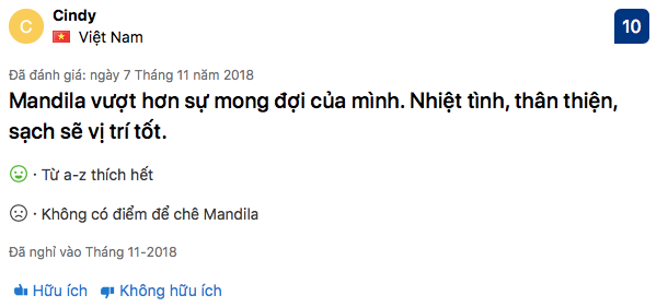 Review Mandila Beach hotel Đà Nẵng